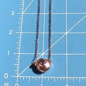 Jewelry - New Never Worn Ted Baker Pink Crystal Necklace